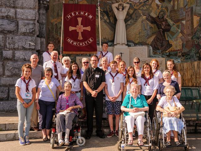 Accueil Pilgrims account of the 2018 Pilgrimage