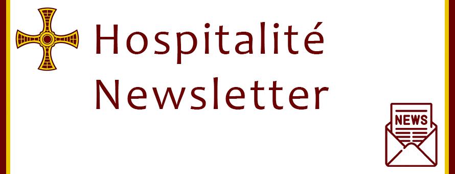 Hospitalité Newsletter March 2021